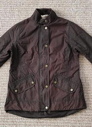 Barbour wax jacket вощеная куртка оригинал (uk10 - s-m)
