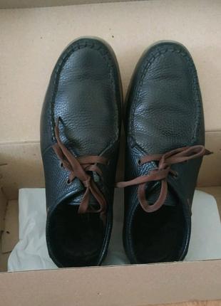 Туфли кожаные на мальчика подростка 39 размер, Braxton