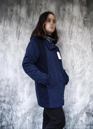 Красивая удлиненная демисезонная куртка, цена ниже качества
