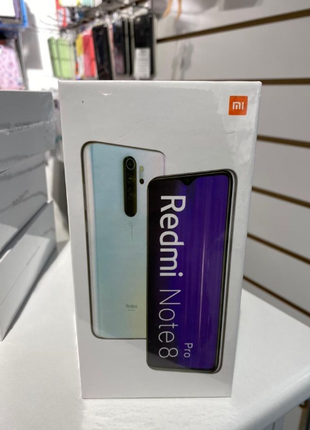 Новый Xiaomi Redmi Note 8 Pro 6/128 Ocean Blue