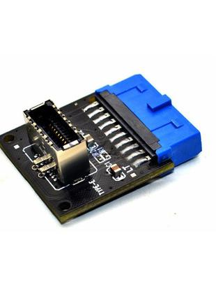 Тype C USB3.1 Передняя панель Разъем USB 3,0 19 Pin к Type-E 2...