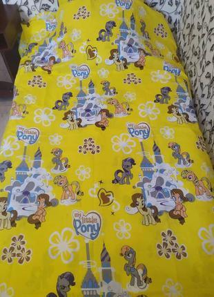 Комплект постельного белья пони