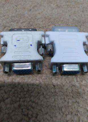 Переходник DVI(M)-VGA