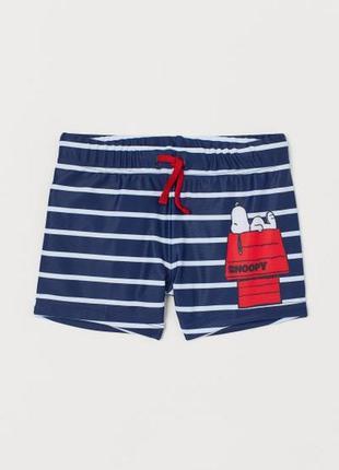 Пляжные шорты, плавки для мальчика h&m, размер 4-6 и 8-10 лет
