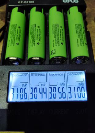 Аккумуляторы 18650 PANASONIC NCR18650PF емк.2900мач 10А оригинал