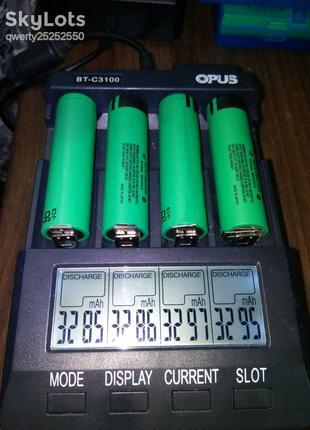 Аккумуляторы PANASONIC NCR18650A 3100МАЧ оригинал