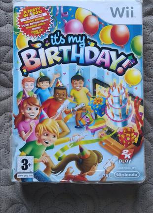It's My Birthday для Nintendo Wii