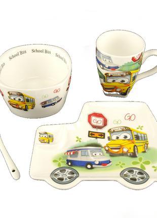 Набор детской посуды Baby Shower 4 предмета  Керамика