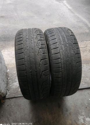 Пара зимних шин 225/60 r16 pirelli sottozero