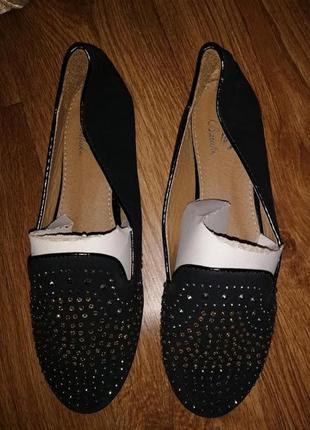 ✨✨✨женские балетки, туфли со стразами balake🔥🔥🔥
