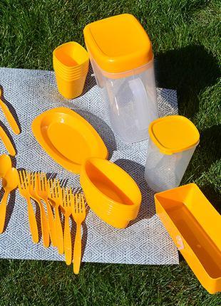 Столовый набор для пикника Bita 35 предметов