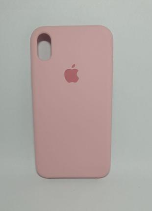 Задня накладка iPhone XR Original Soft Case Light Pink