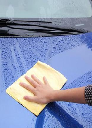 Салфетка автомобильная влаговпитывающая в тубе (43 х 32 см)