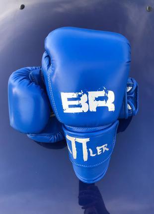 боксёрские перчатки Battler натуральная кожа 12oz