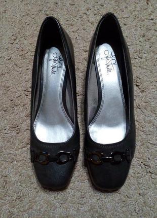 Life stride стильные, актуальные туфли на танкетке благородног...