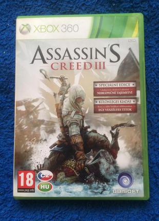 Лицензия Assassin's Creed 3 русская озвучка xbox 360 xbox one