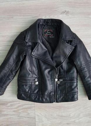 Куртка косуха модная для девочки