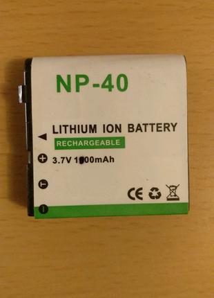 Новый аккумулятор NP-40 lion