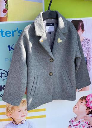 Пальто для девочки kiabi