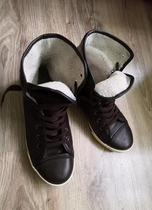 Кеды - ботинки, размер 39