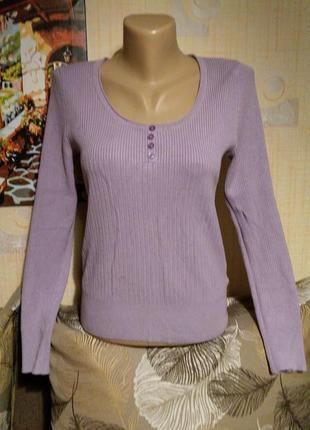 Нежно-сиреневый свитерок вискоза marks and spencer