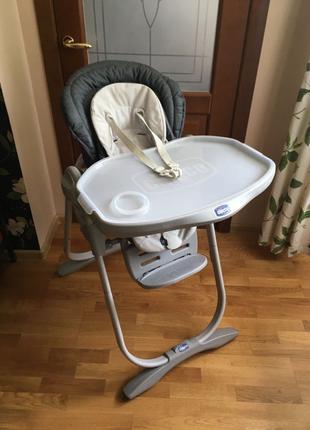 Продам детский стульчик-люлька Chicco Polly Magic