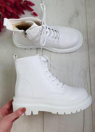 Женские белые ботинки зима 🆕белые зимние сапоги, женские 2020🆕...