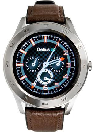 Смарт-часы Gelius Pro GP-L3 (URBAN WAVE 2020) Silver/Dark Brown
