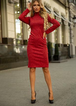 Платье 153R1082 цвет Красный