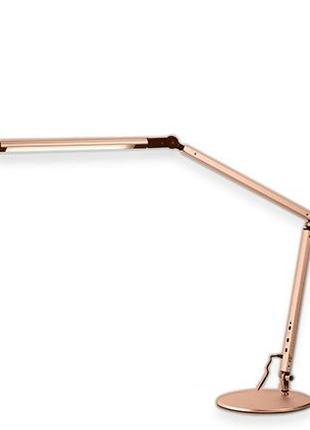 Настольная светодиодная лампа 8 Ватт на подставке + струбцина,...