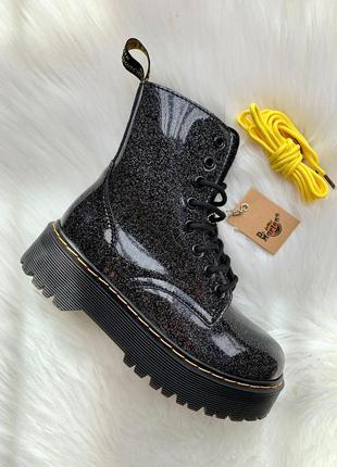 Шикарные женские ботинки dr. martens jadon galaxy