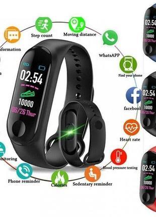 Smart bracelet bp hr (фитнес браслет-часы m3)