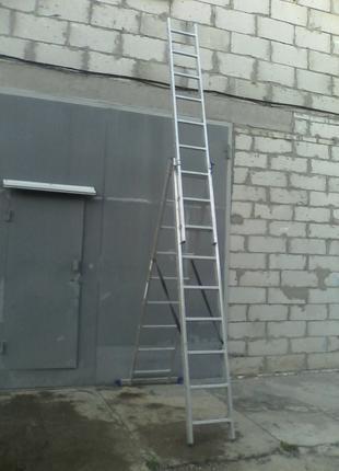 Лестница трансформер от 2,5 м до7 м прокат