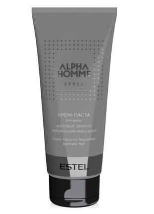 Kрем-паста для волос Estel Professional Alpha Homme