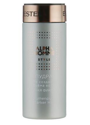 Пудра для волос Estel Professional Alpha Homme