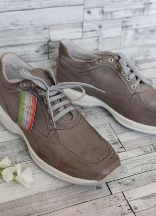 Ботинки /кроссовки pepita shoes (made in italy) замша 43р.