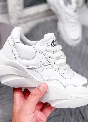 ❤ женские белые кроссовки  ❤
