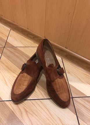 Замшевые туфли/лоферы