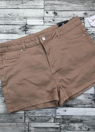Стильные джинсовые шорты с высокой посадкой,