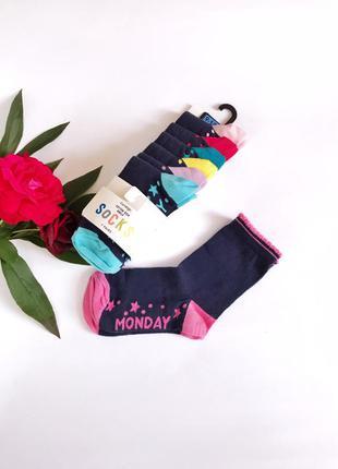 Набор носки для девочек george