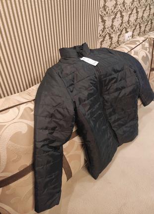 Куртка (осень-весна), размер 3XL,цвет чёрный.