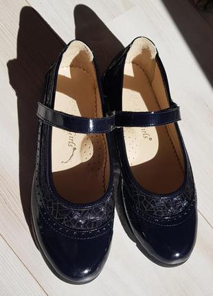 Красивые туфли для девочки натуральная кожа #розвантажуюсь
