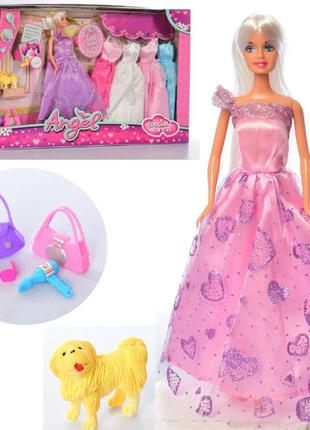 Кукла с нарядами и аксессуарами  K 369-16 C