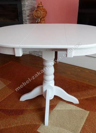 Стіл обідній розкладний. Круглый кухонный стол. Круглий стіл н...