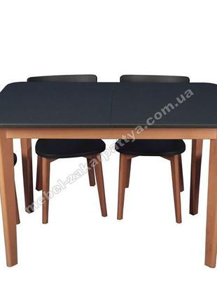 Комплект обеденный деревянный. Стол кухонный раскладной и стул...