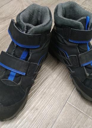 Зимняя детская мужская обувь