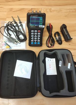 JDS6052S 2-канальный осциллограф 50МГц 200MS/s с генератором и ке