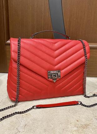 Кожаная сумка сумка из натуральной кожи италия шкіряна сумка