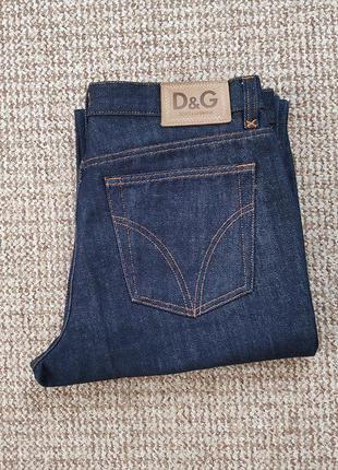 D&g dolce and gabbana джинсы made in italy (w34)