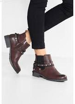 Ботинки Tom Tailor Denim из эко-кожи (состояние новых), 42 размер